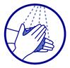 Lavage très régulier des mains
